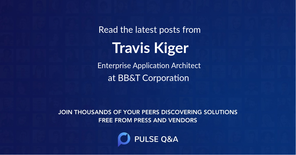 Travis Kiger