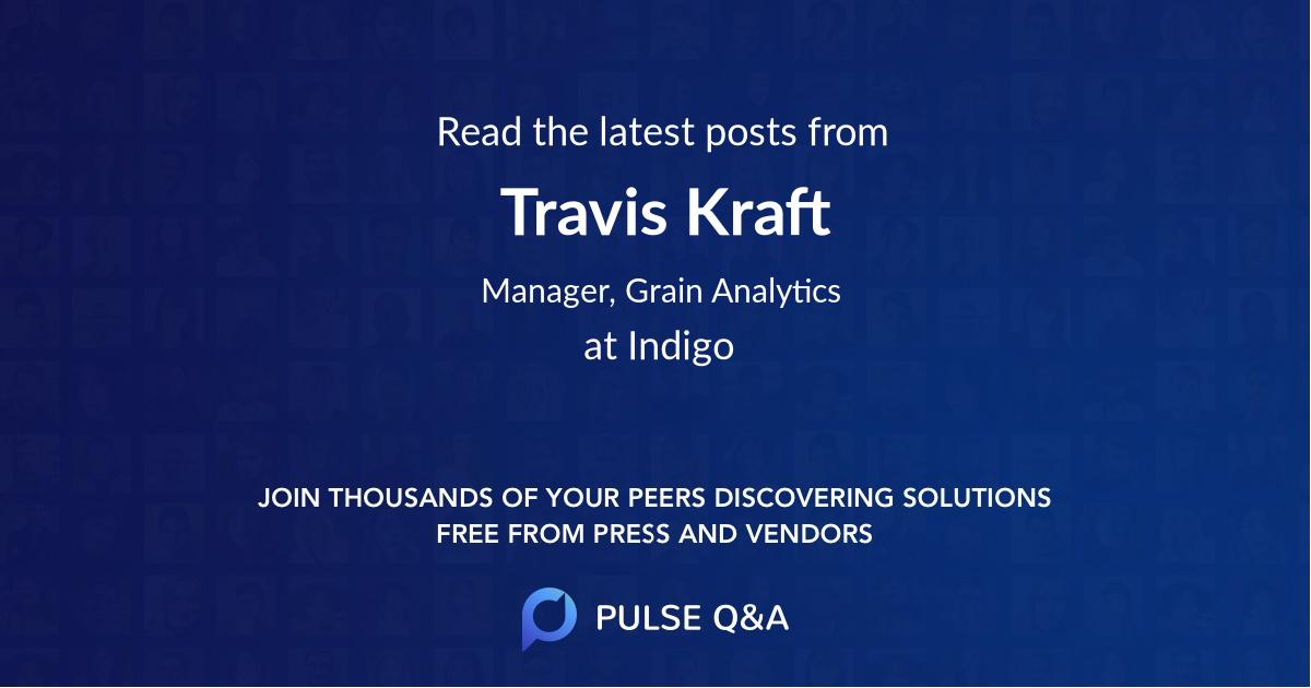 Travis Kraft