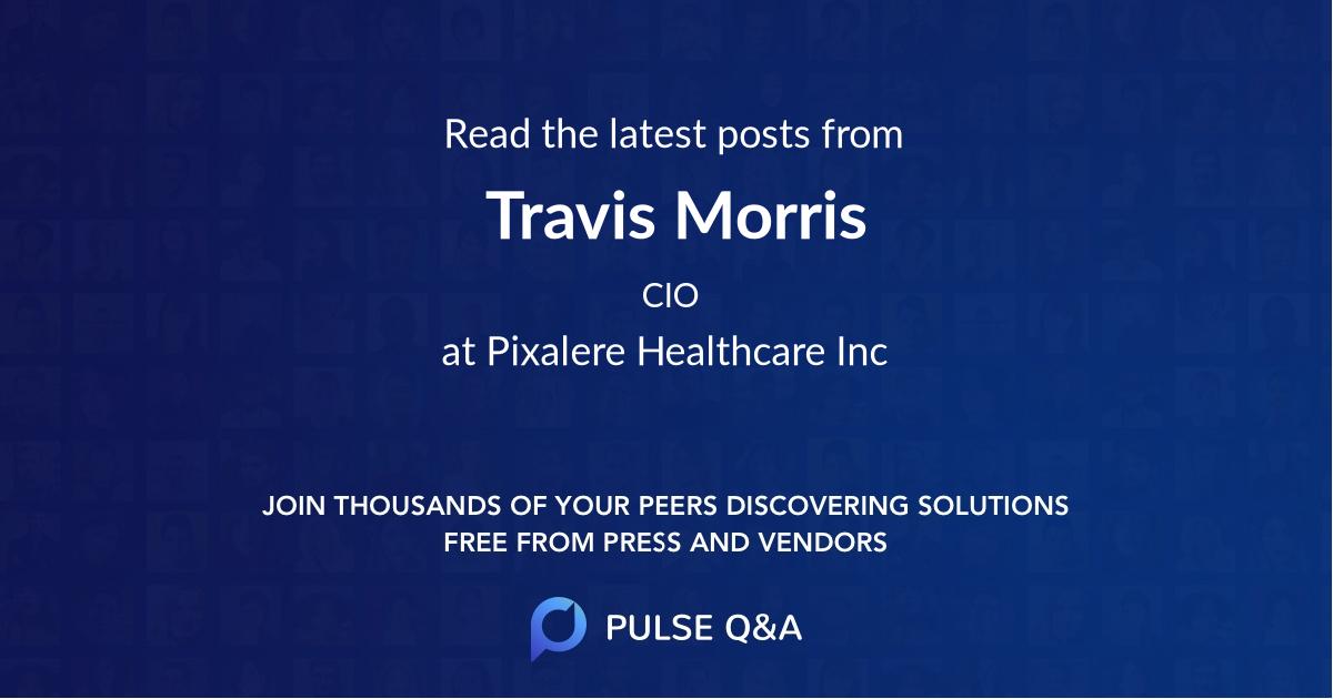 Travis Morris