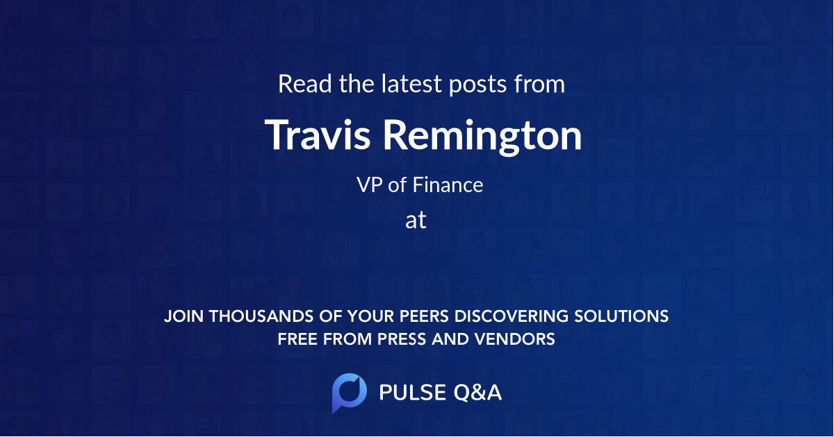 Travis Remington