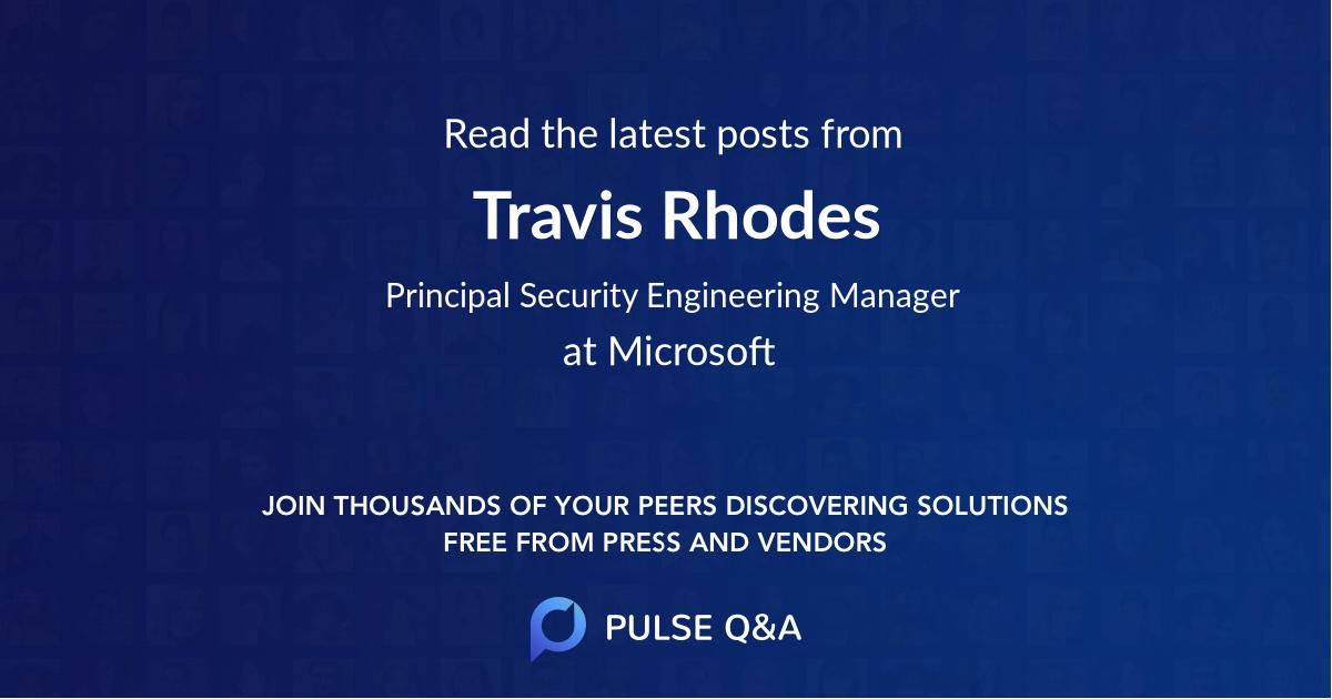Travis Rhodes