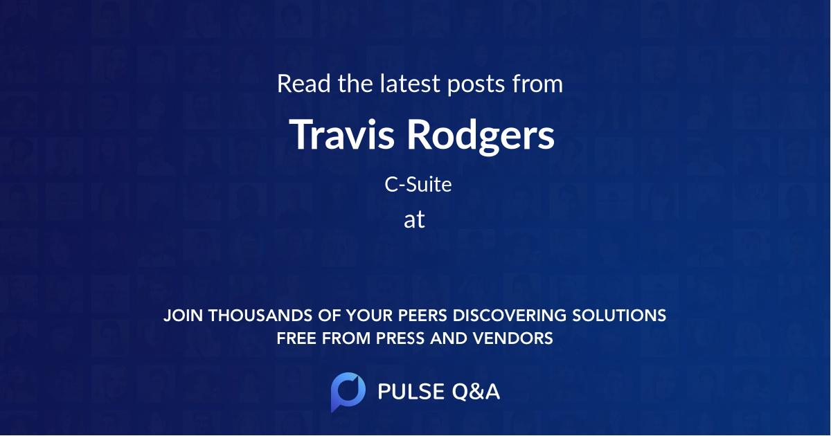 Travis Rodgers