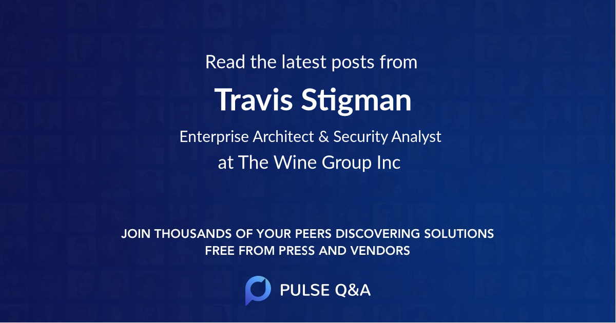 Travis Stigman