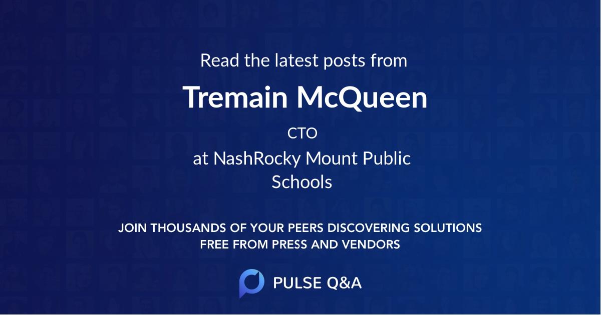 Tremain McQueen