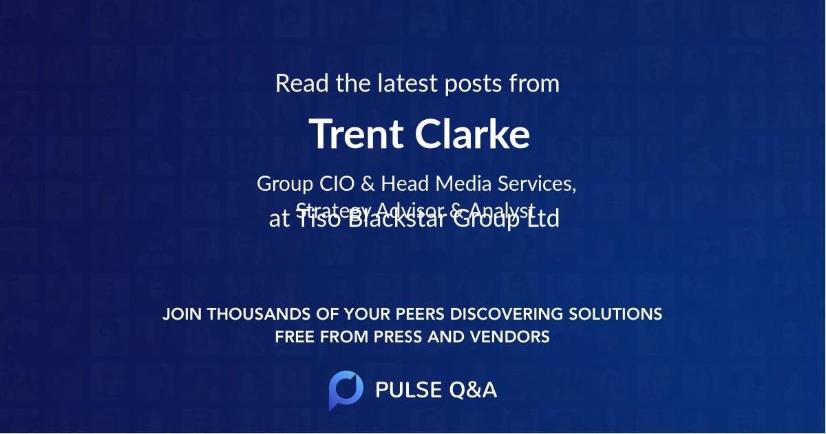Trent Clarke