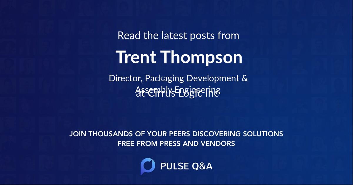 Trent Thompson
