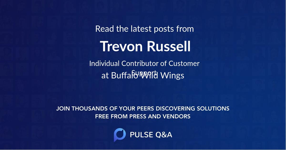Trevon Russell