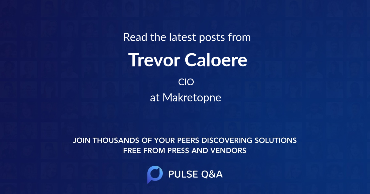 Trevor Caloere