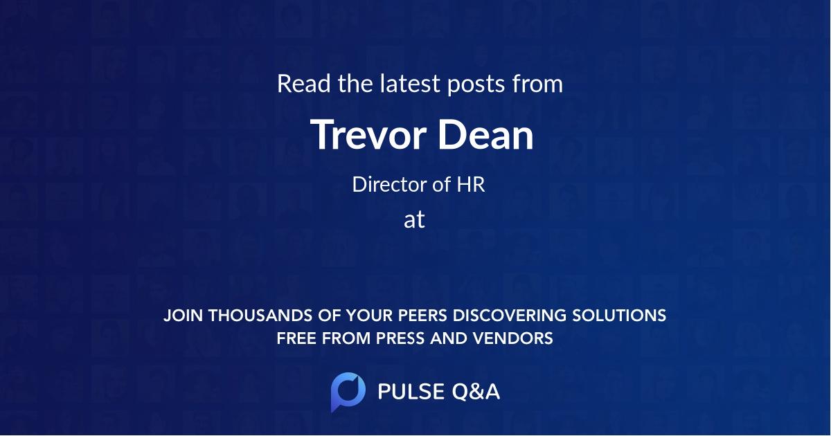 Trevor Dean