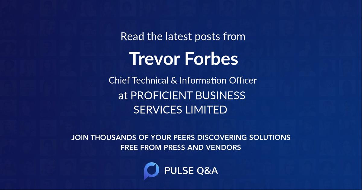 Trevor Forbes