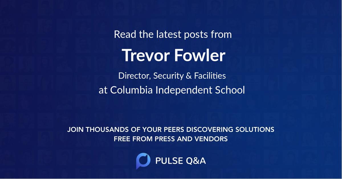 Trevor Fowler