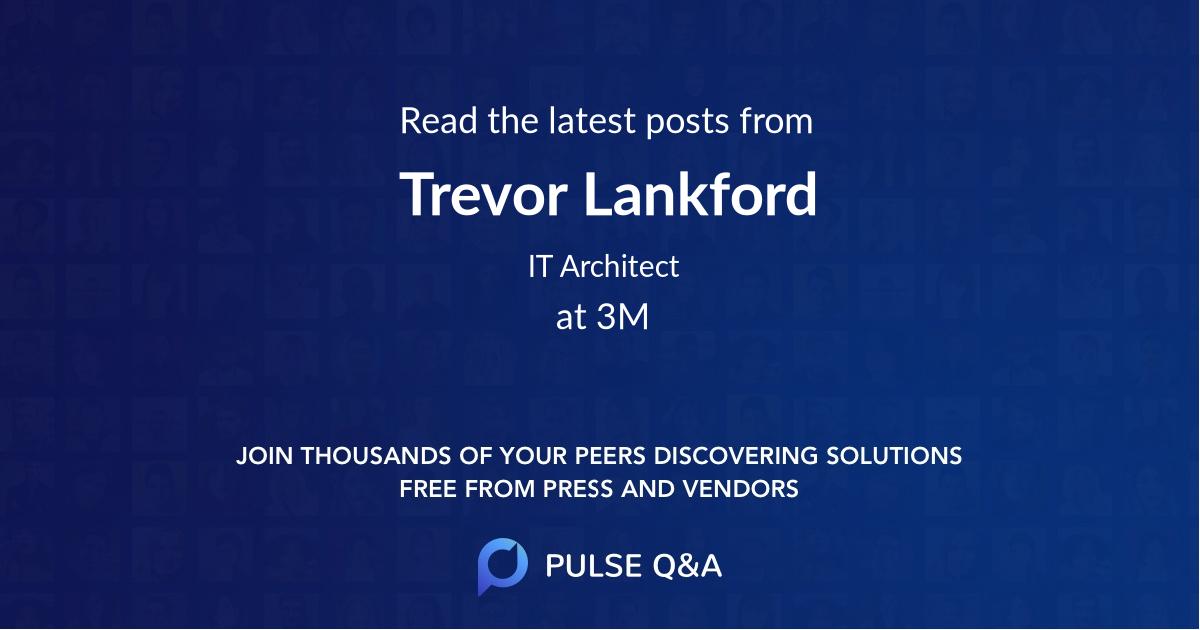 Trevor Lankford