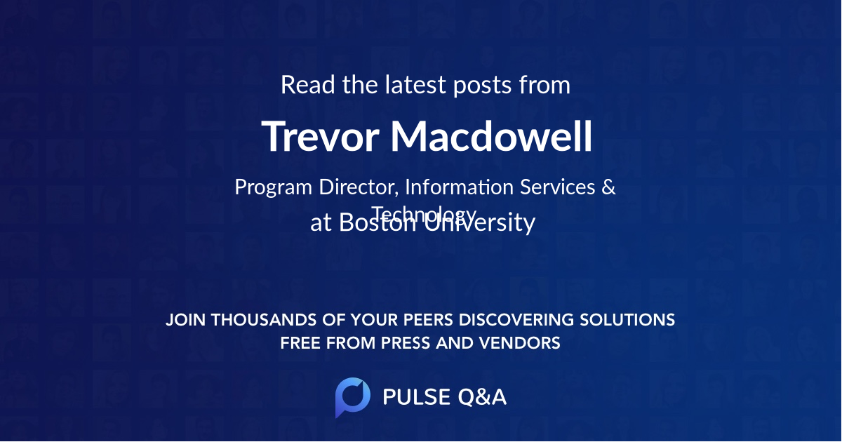 Trevor Macdowell