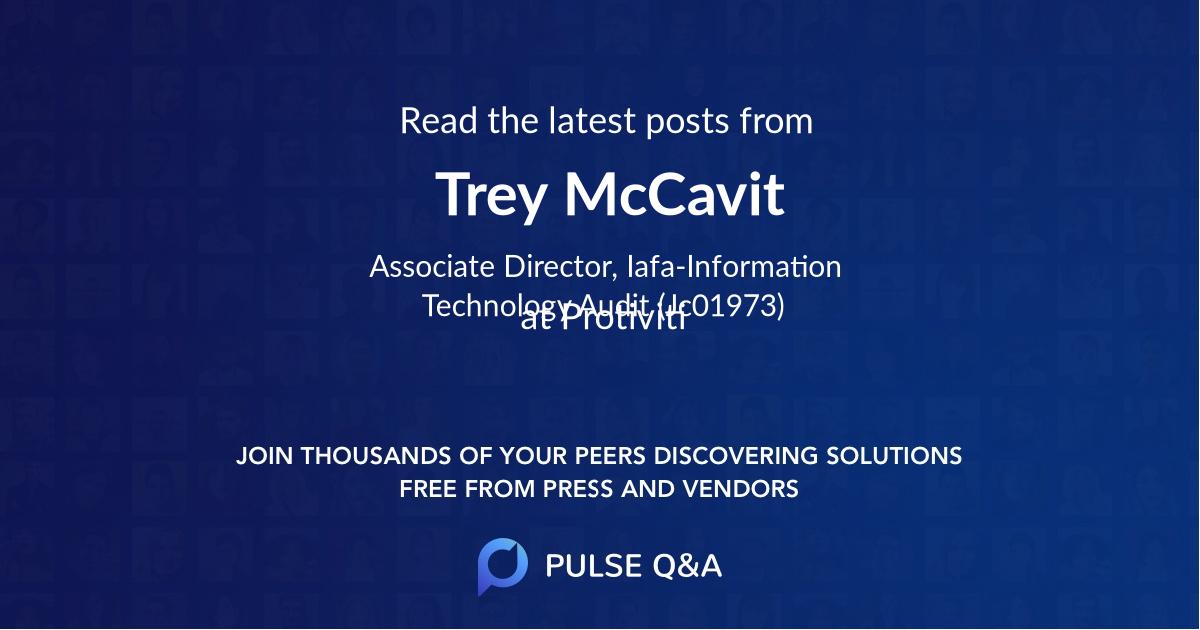 Trey McCavit