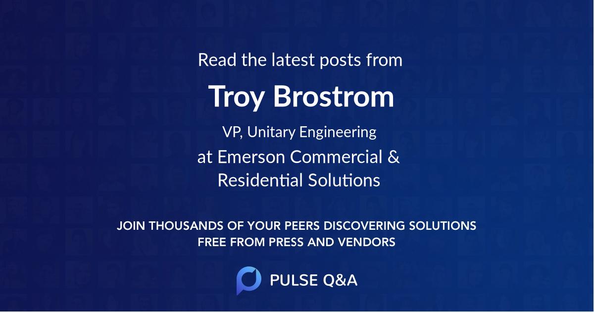 Troy Brostrom