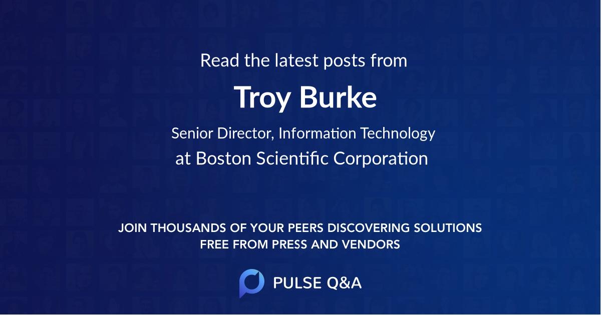 Troy Burke