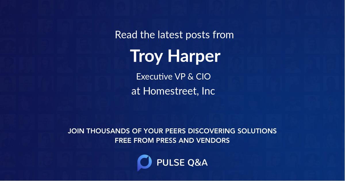 Troy Harper