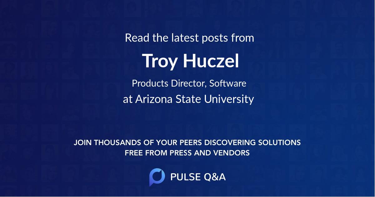 Troy Huczel