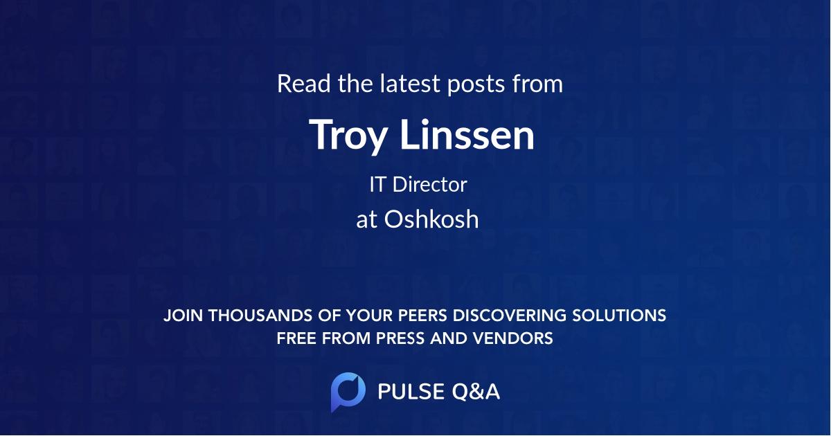 Troy Linssen