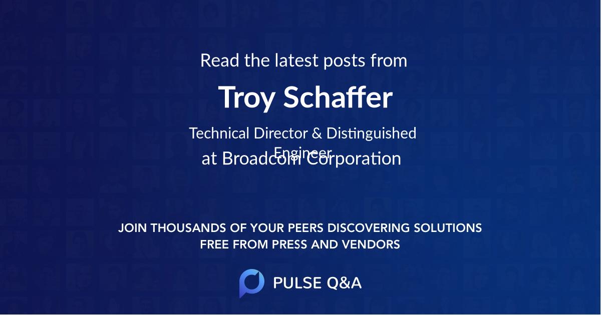 Troy Schaffer