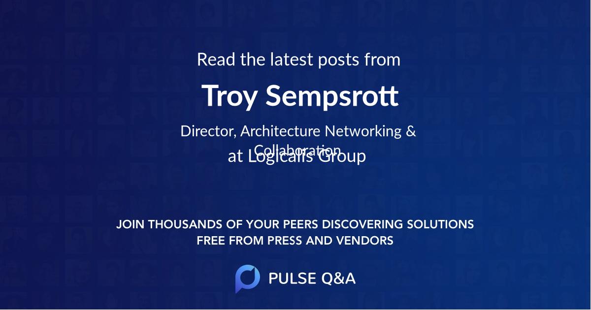 Troy Sempsrott