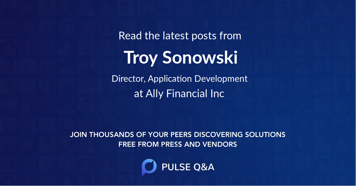 Troy Sonowski