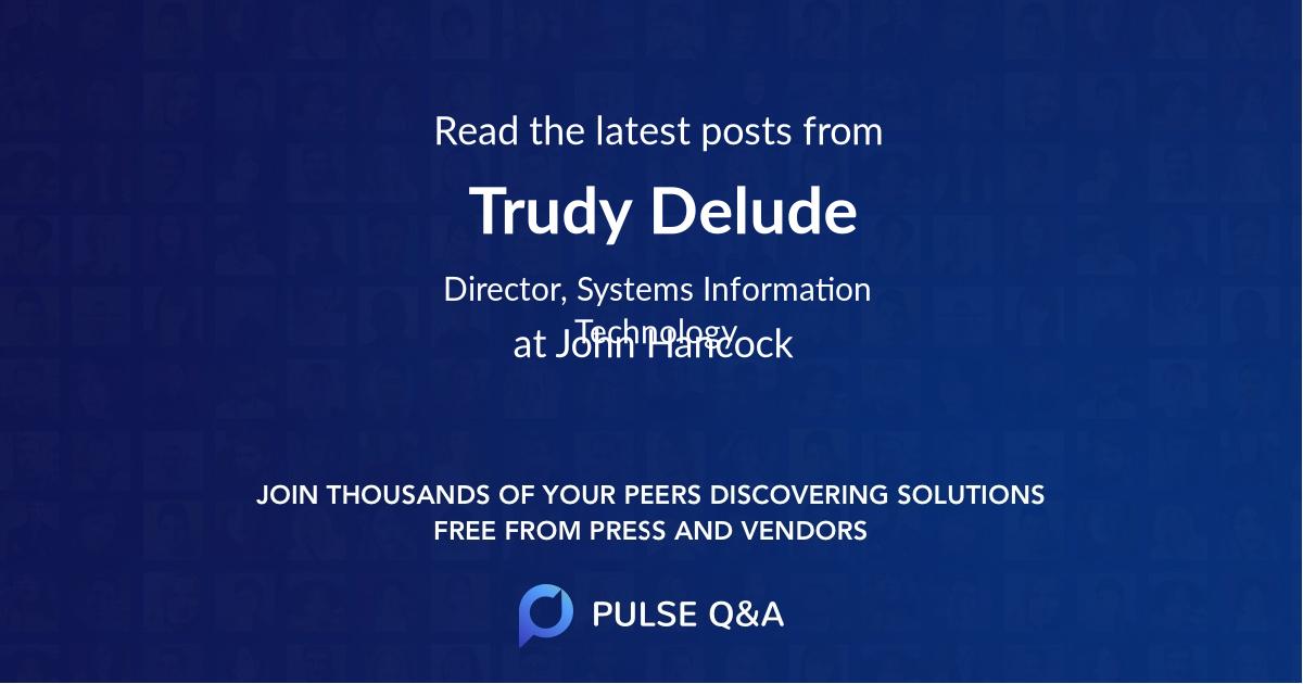 Trudy Delude