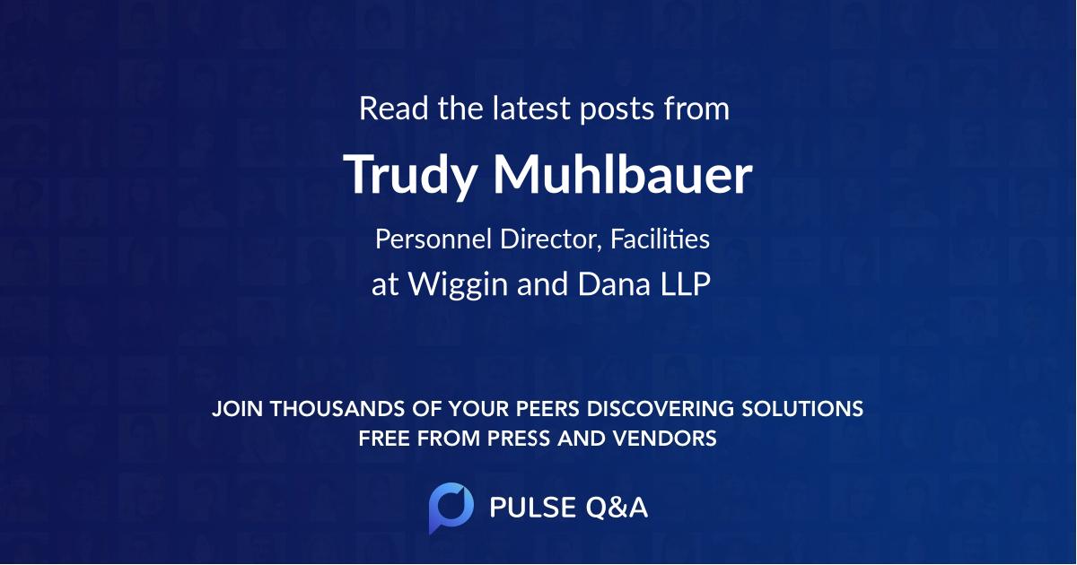 Trudy Muhlbauer