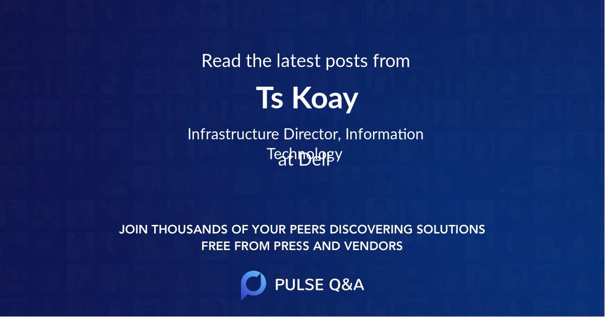 Ts Koay