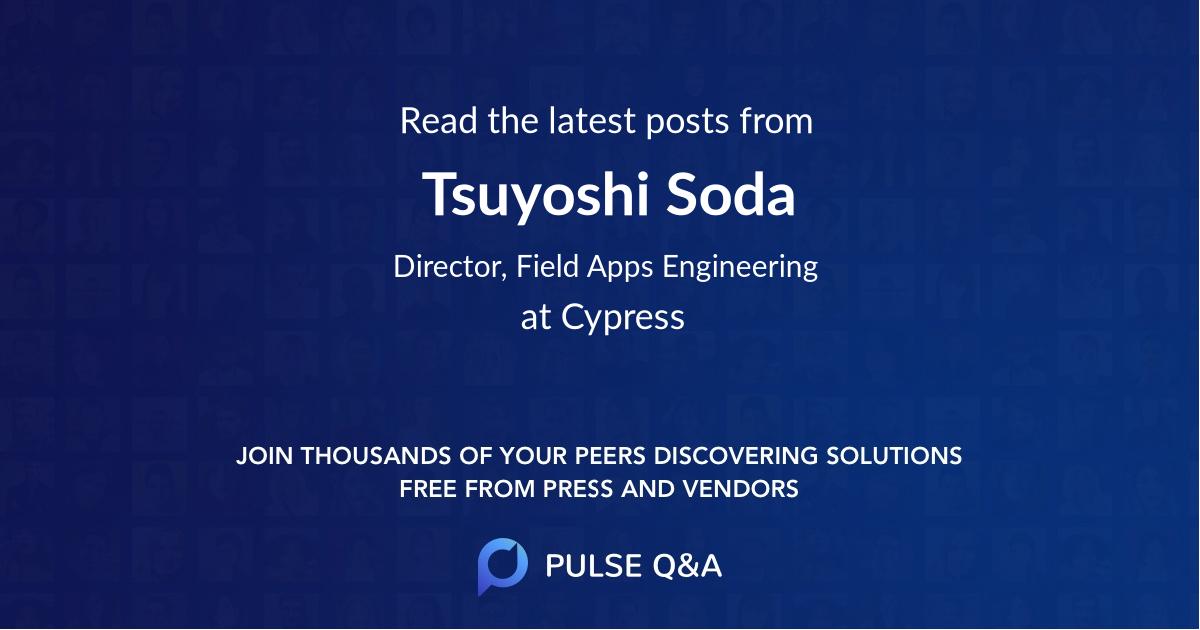 Tsuyoshi Soda