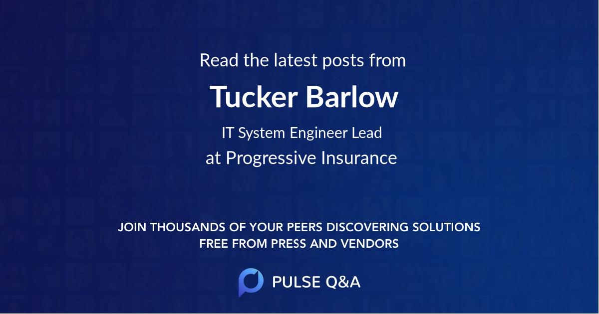 Tucker Barlow