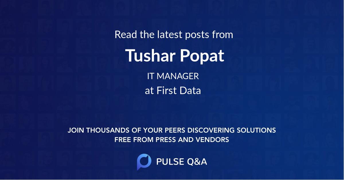 Tushar Popat