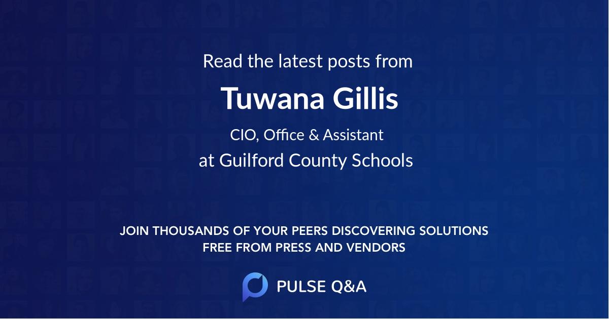 Tuwana Gillis
