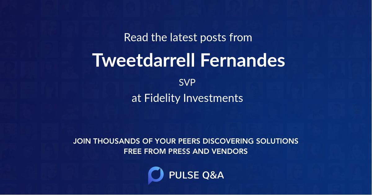 Tweetdarrell Fernandes