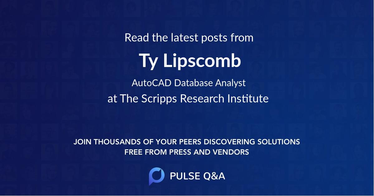 Ty Lipscomb