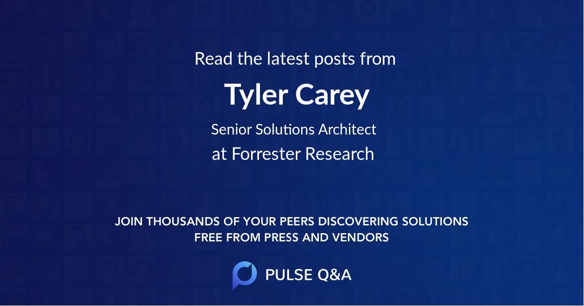 Tyler Carey