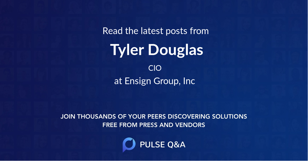 Tyler Douglas