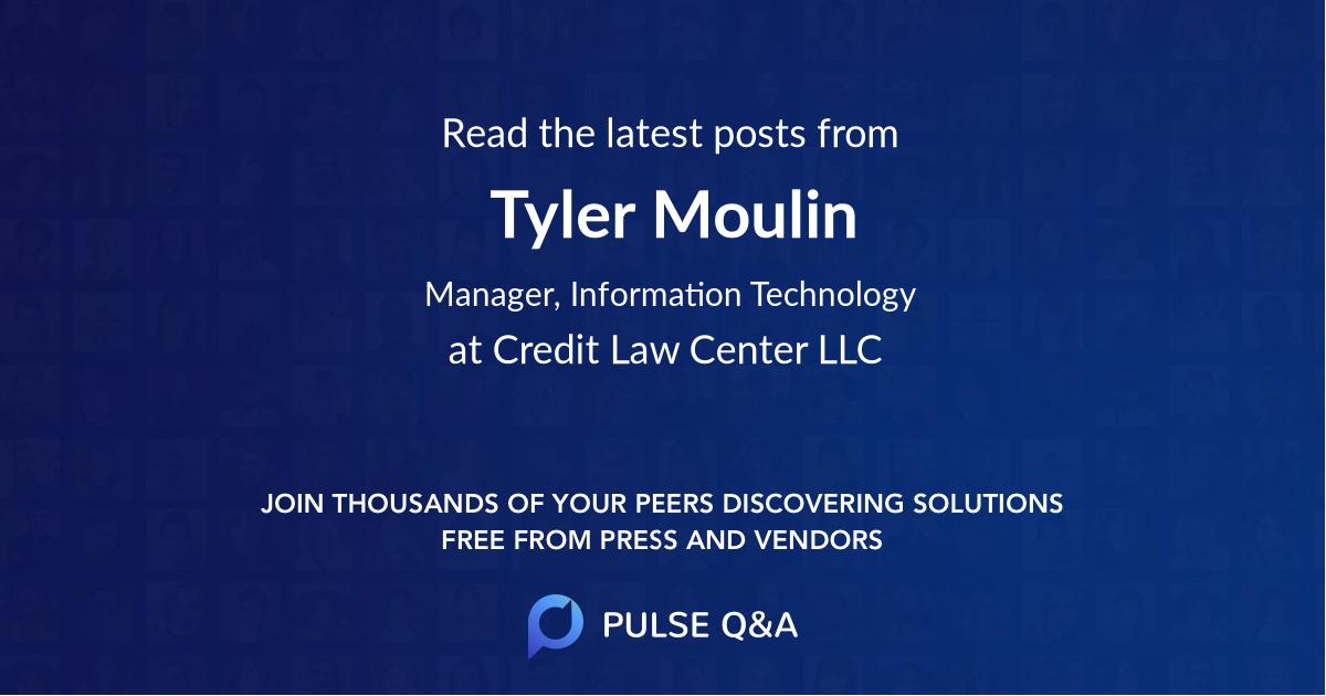 Tyler Moulin