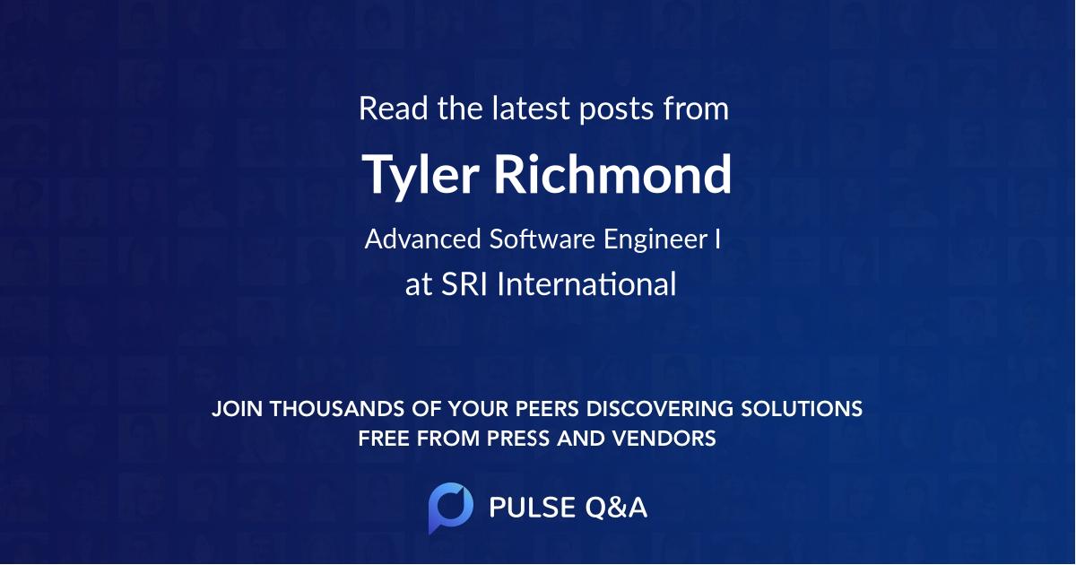 Tyler Richmond