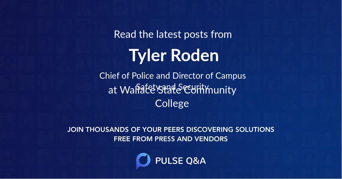 Tyler Roden