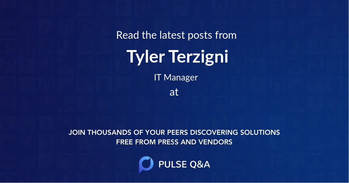 Tyler Terzigni