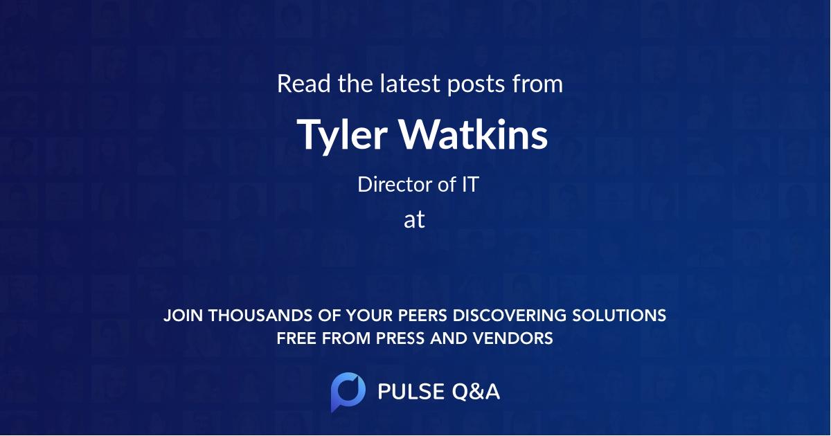 Tyler Watkins