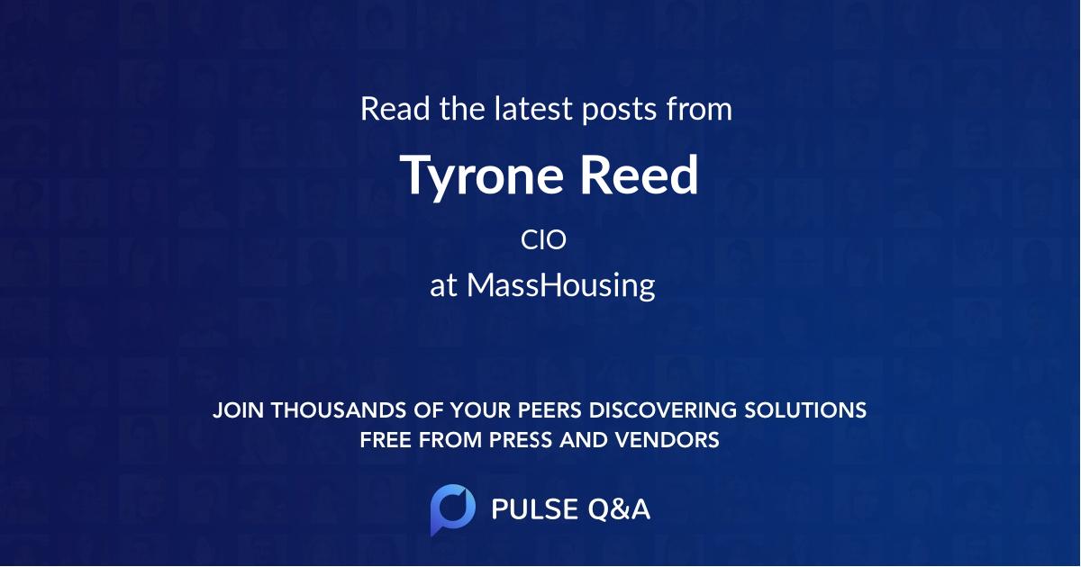 Tyrone Reed