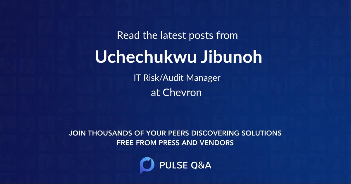 Uchechukwu Jibunoh