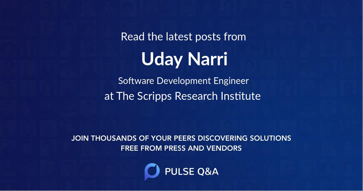Uday Narri
