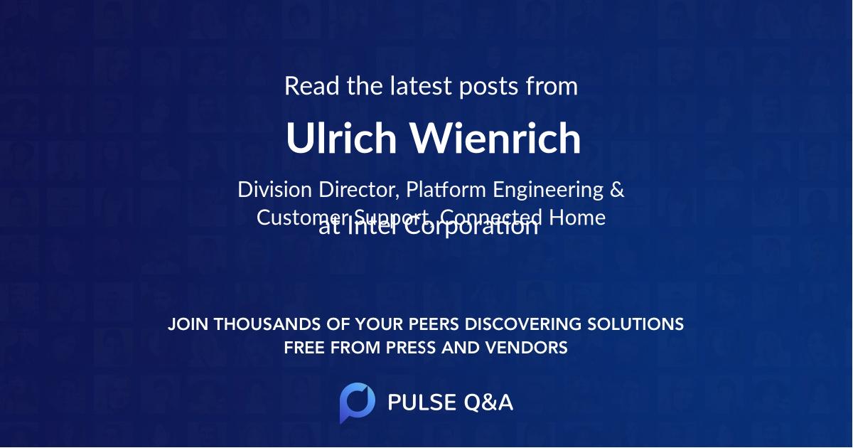 Ulrich Wienrich