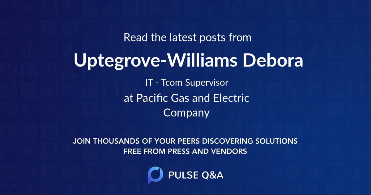 Uptegrove-Williams Debora