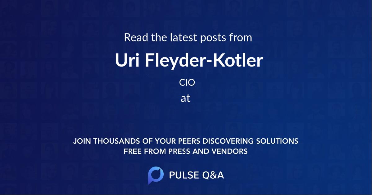Uri Fleyder-Kotler