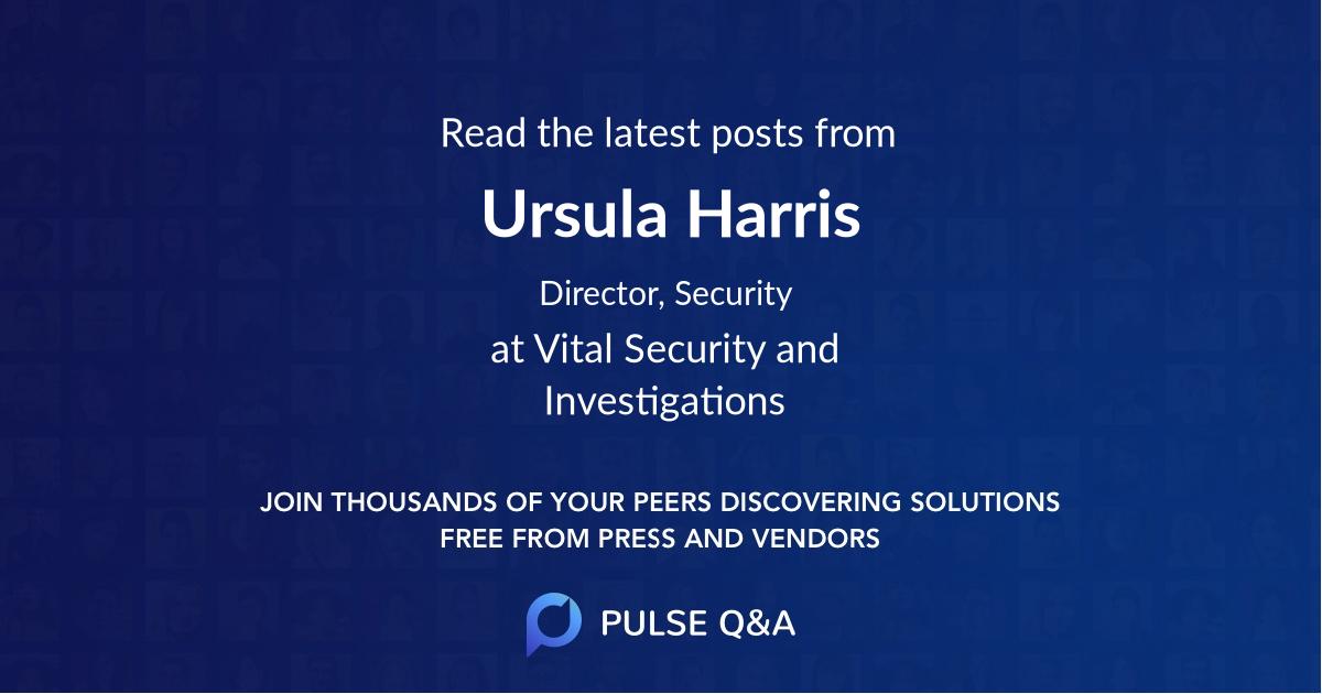 Ursula Harris