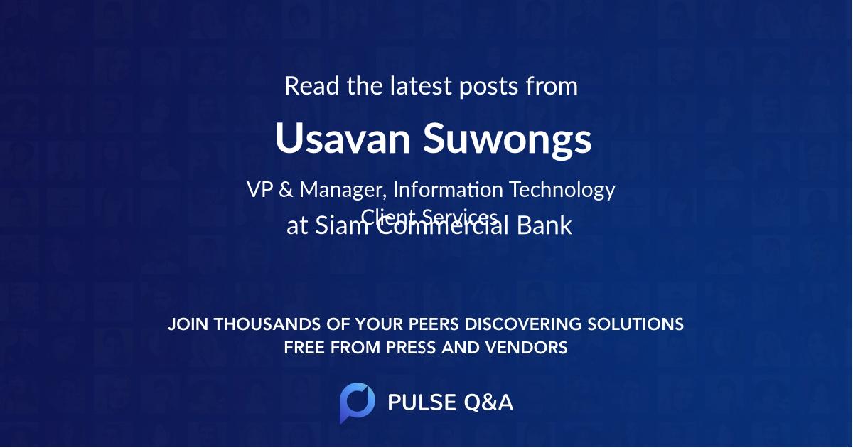 Usavan Suwongs